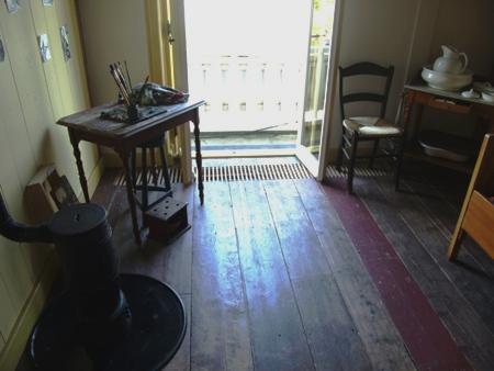 De kamer waar Vincent van Gogh woonde en werkte tijdens zijn verblijf in Drenthe.